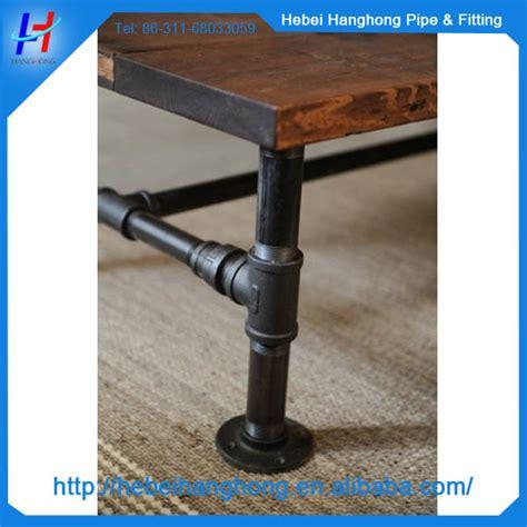 cast iron bar table base black iron pipe fittings antique cast iron bar table base