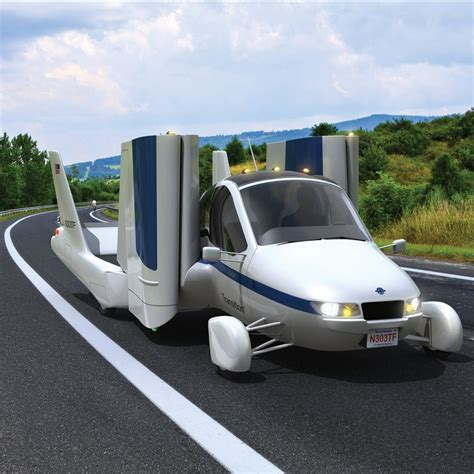 Garage Flying Car by The Flying Car Converts From Automobile To Aircraft In