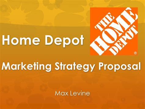 home depot marketing strategy
