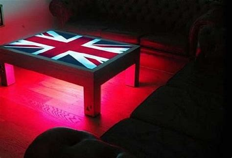 Led Tables by Seven Led Coffee Tables To Sparkle Your Living Space