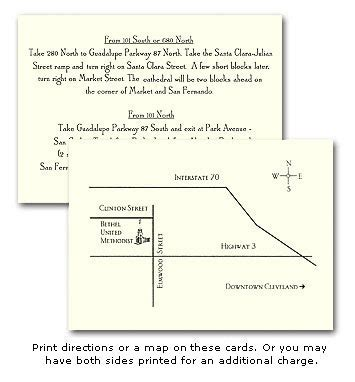 marva s blog we can create a direction card for your