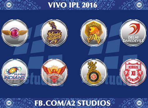 ipl 2016 all teams logo vivo ipl 9 patch logos pack 2016 for ea sports cricket 07