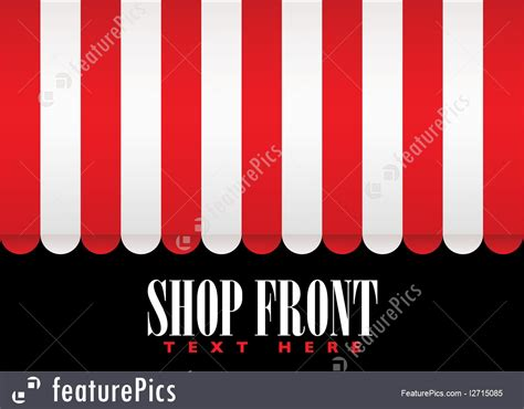 shop front awning illustration of shop front awning