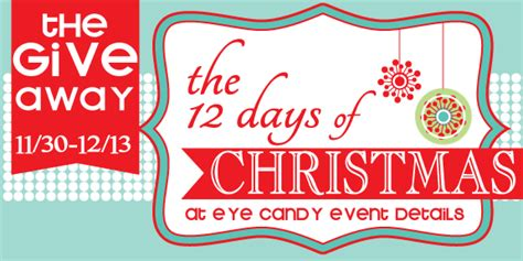 Christmas Candy Giveaways - eye candy creative studio giveaway 12 days of christmas giveaway