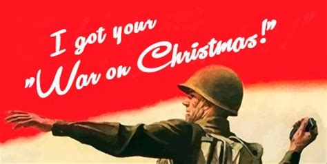 the war against the war on christmas
