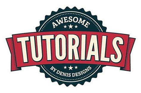 vintage logo design photoshop tutorial logo tutorial in photoshop cs5 archives ddesignerr