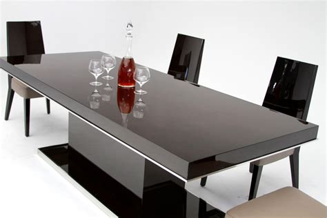 Modern Black Dining Room Tables Noble Modern Lacquer Dining Table Modern Dining Dining Room