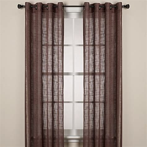 95 curtain panels with grommets buy alton 95 inch solid grommet window curtain panel in