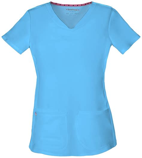Hq 10445 Set Toppants Pink Blue quot pitter pat quot shaped v neck top in turquoise from