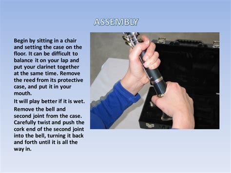 powerpoint tutorial ks2 powerpoint presentation for clarinets whole class tuition