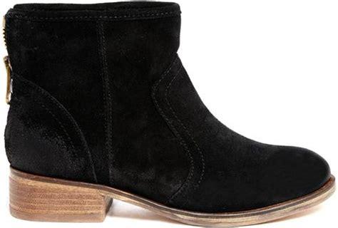 aldo flarola suede ankle boots in black 91black lyst