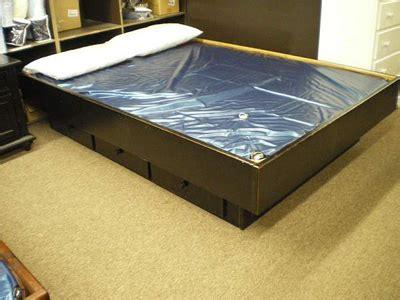hardside water bed frames furniture mattress store