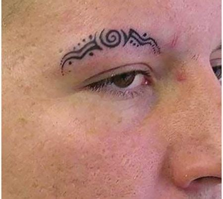 tattoo eyebrow designs top 10 eyebrow designs you can try right now