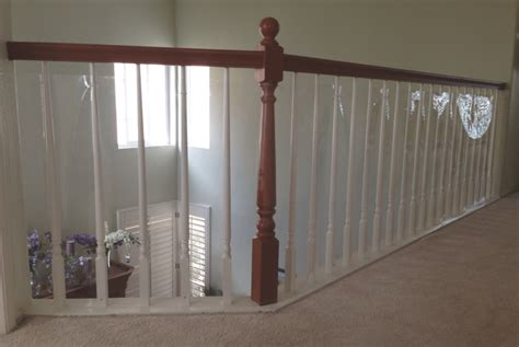 Banister Shield by Baby Safety For Stair Railings Banisters And Balusters