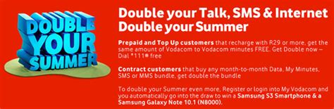 vodacom yebo millionaires prizes vodacom double your summer promotion details