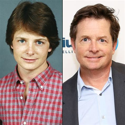 michael j fox and emilio estevez michael j fox 80s stars then and now us weekly