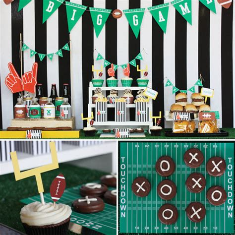 printable football party decorations printable football party collection 30 touchdown 5