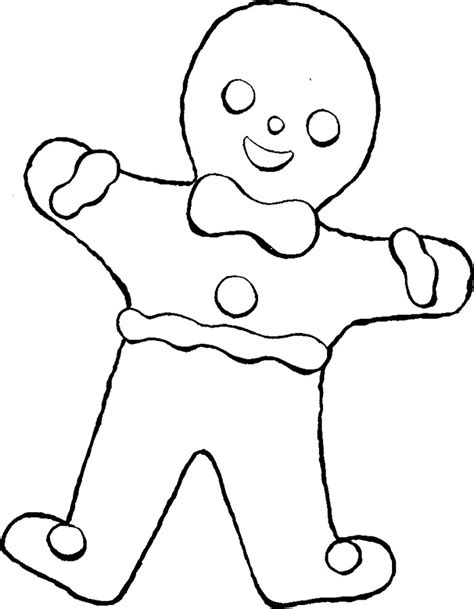 Gingerbread Baby Coloring Pages gingerbread baby coloring pages az coloring pages