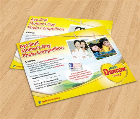 Dancow Ibu Morning Communications Dancow Hari Ibu Kontes Invitation
