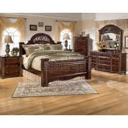 Ashley Bedroom Furniture Gabriela Poster Bedroom Set Signature Design By Ashley