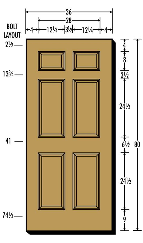 Standard Door Sizes Interior by Door Standards 7700 Series Delayed Egress Models Quot Quot Sc Quot 1 Quot St Quot Quot Cal Royal