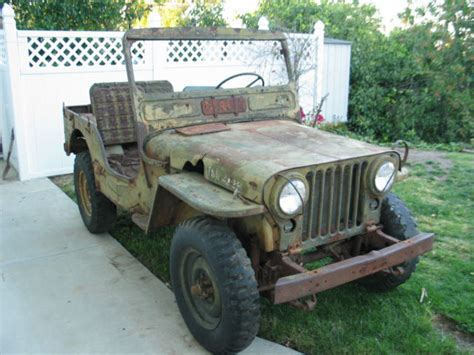 korean war jeep 1951 51 willys jeep m38 military korean war army jeep for