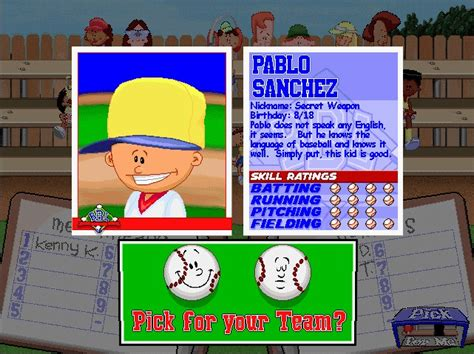 pablo sanchez backyard sports mlb pitcher s helmet cap does not look good page 3
