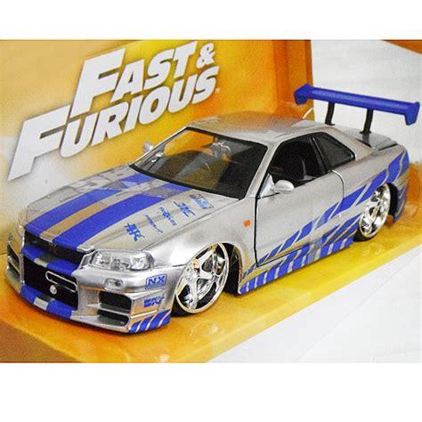 Brian S Nissan Skyline Gt R R34 Silver 楽天市場 fast and furious brian s nissan skyline gt r r34