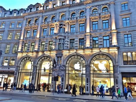 apple london regent street 7 flagship stores at one blow