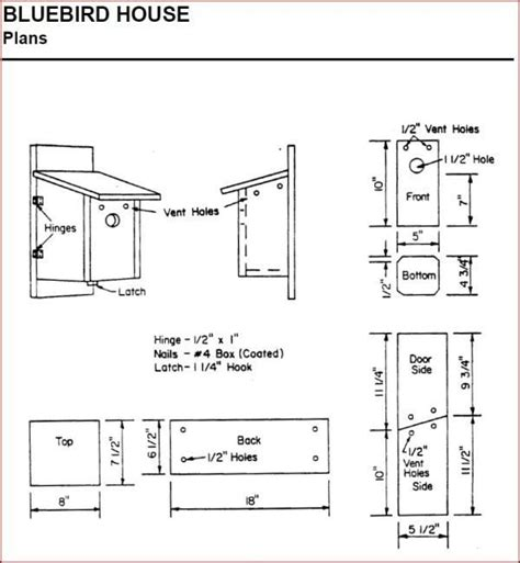 lovely free home plans 11 free house plans and designs bluebird bird house plans lovely creating bluebird habitat