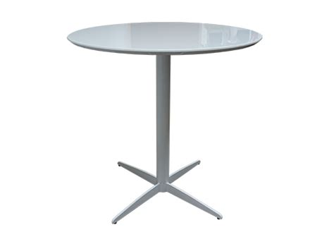 White Cocktail Table by Thelounge Onyx White Cocktail Table