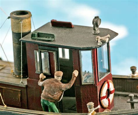 kid o tugboat o scale boat series small tug boat kit