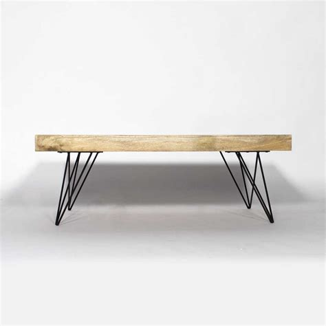 Table De Salon Scandinave by Table Basse Bois Metal Style Scandinave Made In Meubles