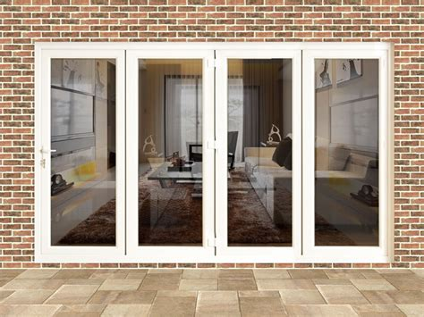 Tri Fold Patio Doors by 10ft White Upvc Folding Doors Flying Doors
