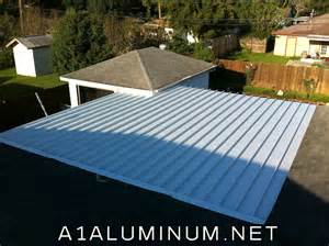 aluminum patio cover in pasadena by a 1 aluminum co