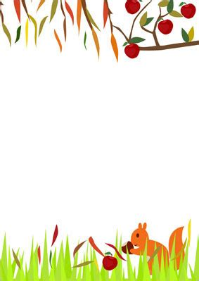 autumn themed notepaper | free early years & primary
