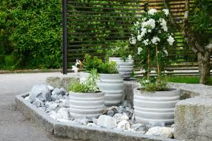 Outdoor Tall Planters by Vorgarten Gestalten 16 Inspirierende Ideen Mit Pfiff