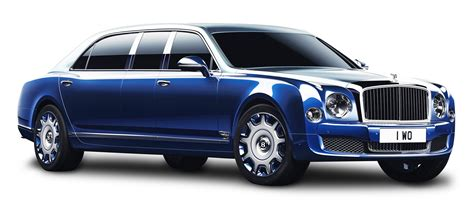 blue bentley mulsanne bentley mulsanne grand limousine blue car png image pngpix