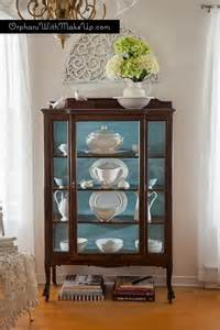 Curio Cabinet Chalk Paint A Wonderful Compromise Leads To Stunning Results Orphans