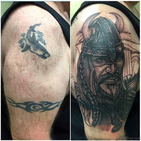 90 incredible viking shoulder tattoos