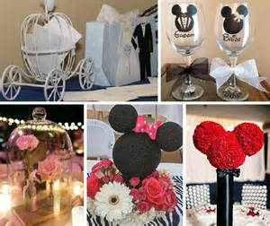 Some ideas to get you started on planning your disney themed wedding