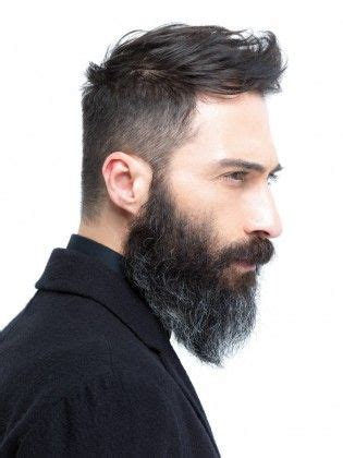 Bearded Mens Hairstyles by Hair Styles For With Beards Styloss
