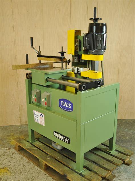 multico tm tenoner woodworking machinery