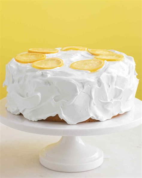 Lemon Cake by Lemon Cake Recipe Martha Stewart