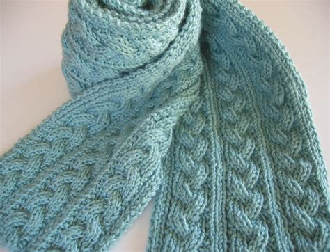 pattern knitting scarf cable 28 best images about reversible knits on pinterest