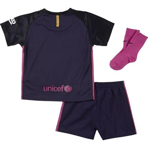 Jaket Barcelona Away 2016 2017 nike barcelona away infant kit 2016 2017 nike from excell sports uk