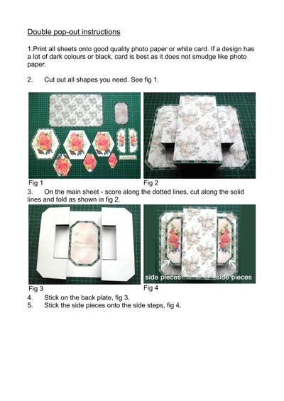 carding full tutorial pdf 3d double pop out full steam ahead cup521083 173