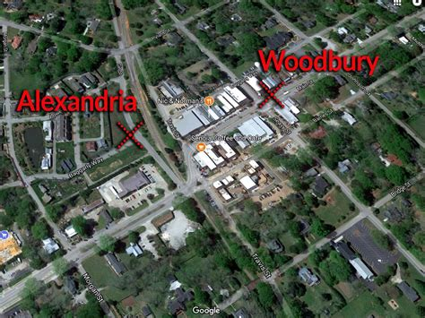 walking dead filming locations map visiting the walking dead location glitchup