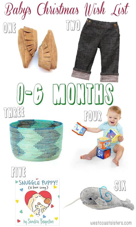 6 month christmas gifts gifts for baby 0 to 6 months west coast