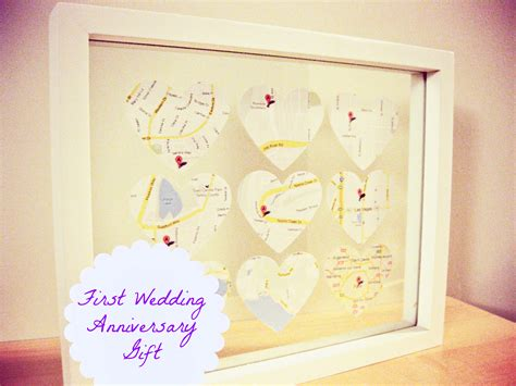 Handmade Gift Ideas For Husband - wedding anniversary gifts wedding anniversary gifts